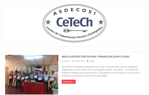 CeTeCh / Corporate Design, Web, Content, Logo