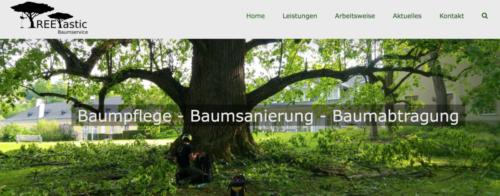 Treetastic / Webdesign