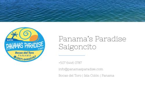 Panama's Paradise / Webdesign