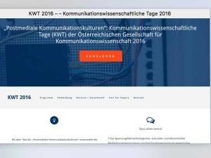 KWT 2016 / Webdesing