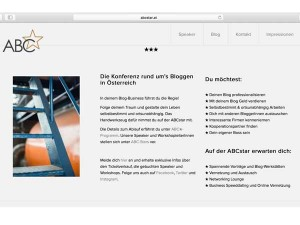 ABCstar (former) / Corporate Design, Web, Content, Logo